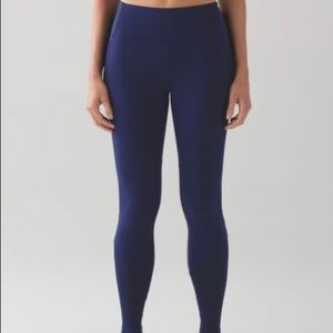 Lululemon Fit Physique Tight Hero Blue